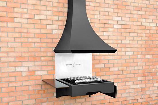 Гриль барбекю угольно - дровяной GRILL - 610