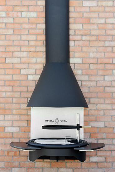 Гриль барбекю угольно - дровяной GRILL - 601